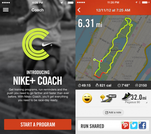 Nike Plus Run Coach