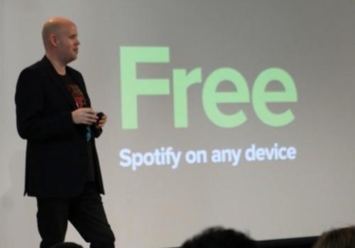 Spotify free Pressekonferenz