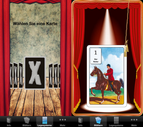 X Karten screen1