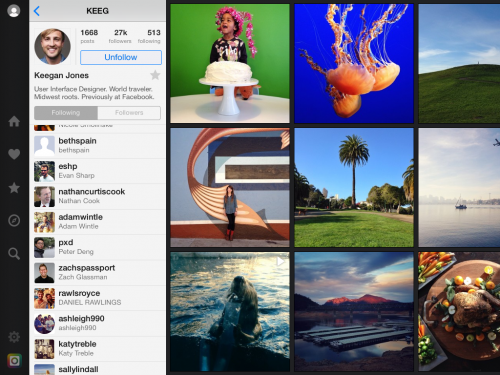 flow for instagram screen1