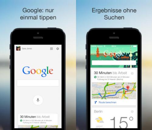 google-suche Update