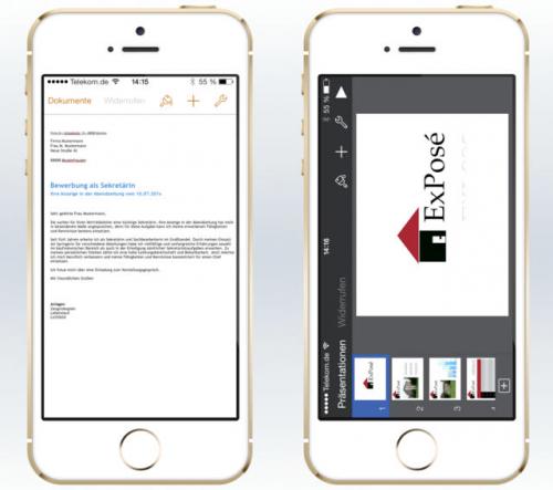 iWork Vorlagen Pro screen2