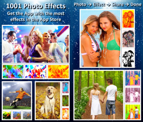 1001 photo effects screen1
