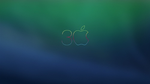 30 Jahre Mac Wallpaper