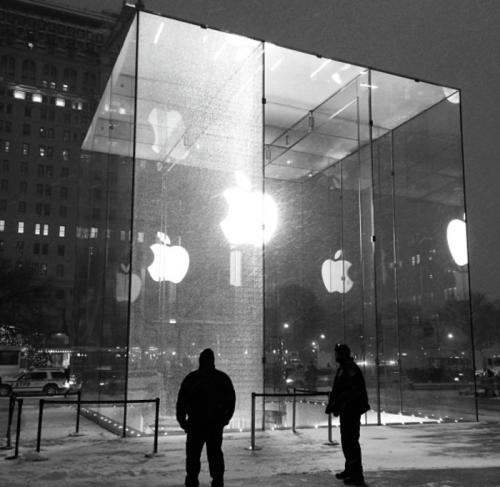 Apple Store New York Glasschaden 9to5mac.com