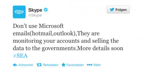 Hacker Skype Twitter