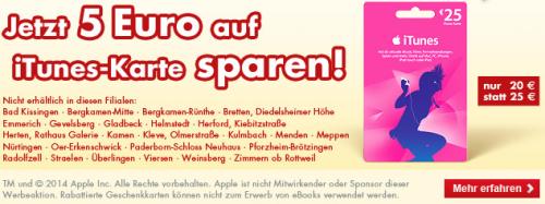 Kaufland iTunes Karte Bernd