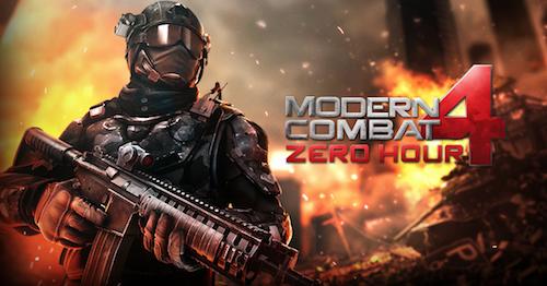 Modern Combat 4 Logo