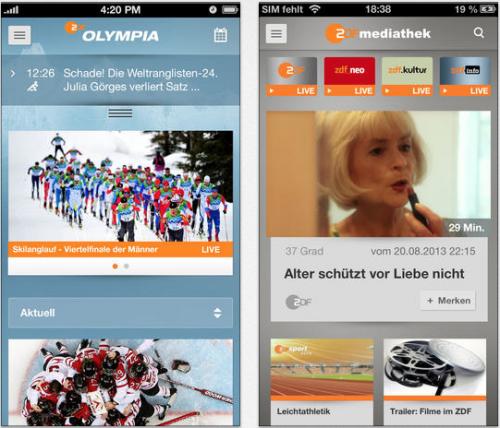 Olympia ZDF Mediathek