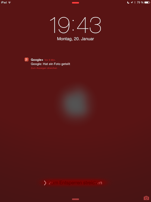 Slide to Unlock neu iOS 7.1 Beta 4