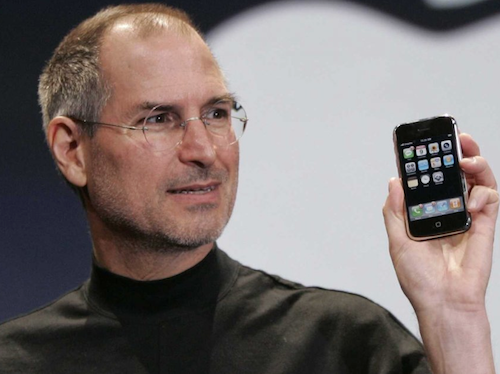 Steve Jobs iPhone 1 erstes iPhone