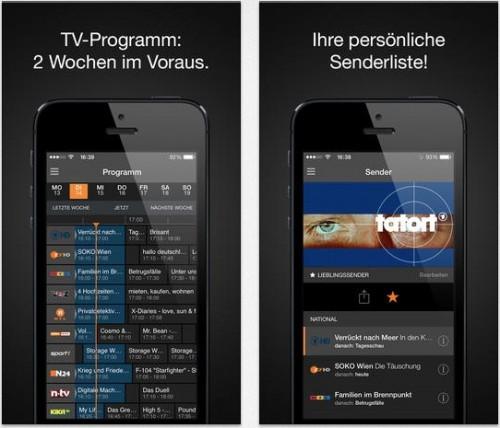 Zattoo Fernsehen App
