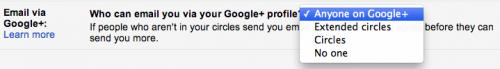 gmail googleplus 2