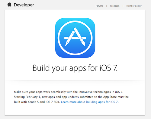 iOS 7 Apps SDK Apple Mail