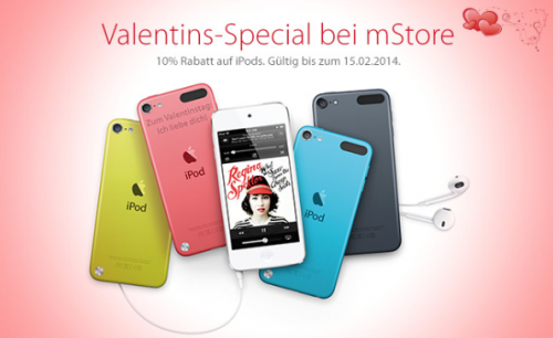 iPod Valentinstag Special