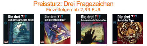 Amazon die drei Aktion