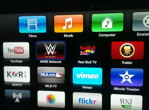 Apple TV WWE