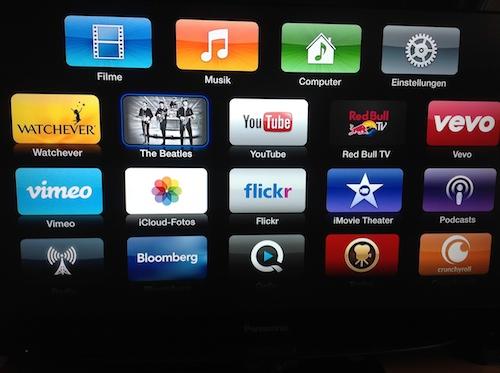 Beatles Apple TV