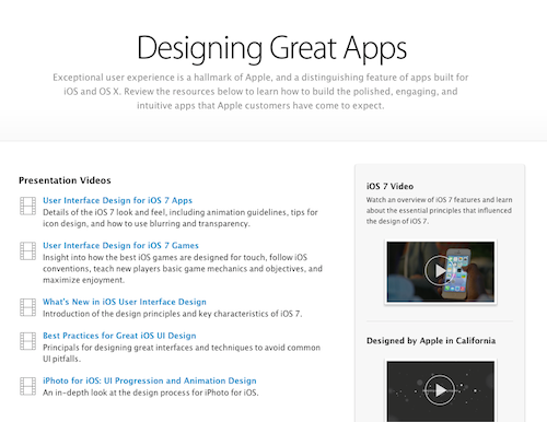 Designing Great Apps