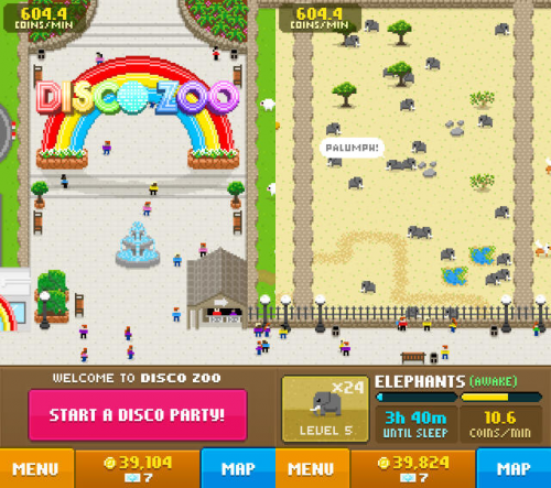 Disco Zoo Screen1
