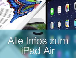 Alle Infos zum iPad Air kompakt