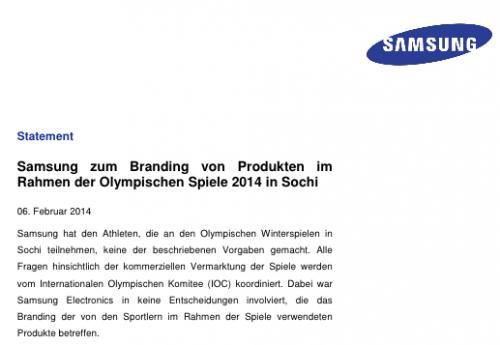 Samsung PR