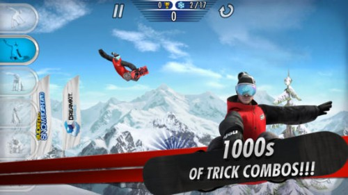 SuperPro Snowboarding Screen1