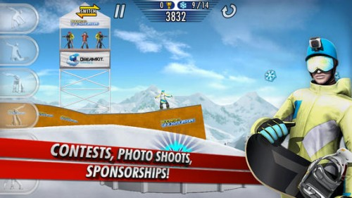 SuperPro Snowboarding Screen2