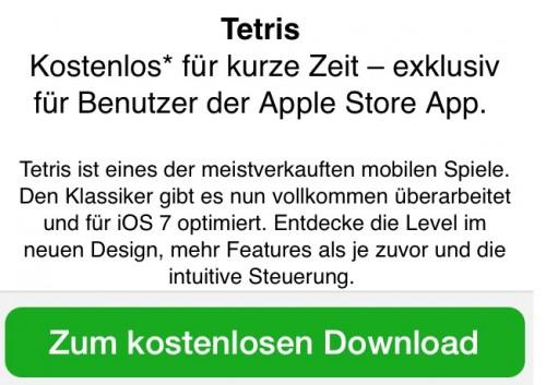 Tetris gratis Apple