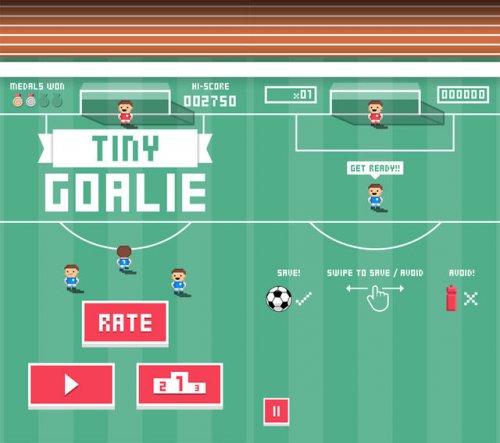 Tiny Goalie Screen1
