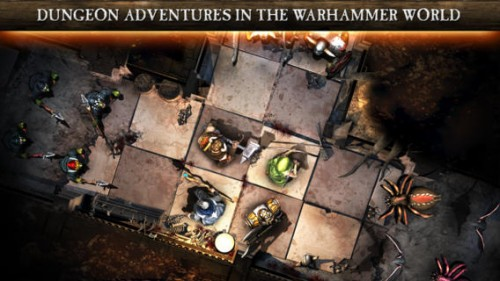 warhammer quest screen