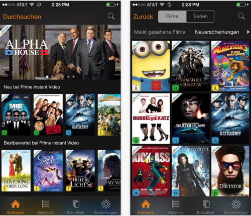 Amazon Instant Video Screen1