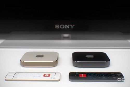 Apple TV Idee curved