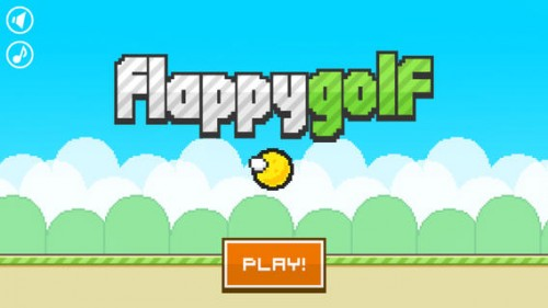 Flappy Golf Screen1