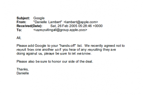 Google VS Apple Email1