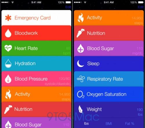 Healthbok iOS 8 Pre Screen1
