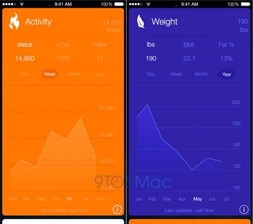 Healthbok iOS 8 Pre Screen2