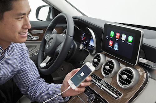 Mercedes CarPlay 1