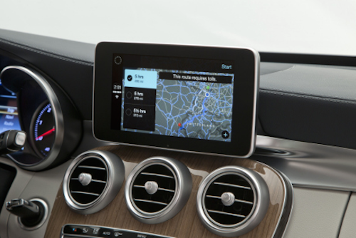 Mercedes CarPlay 3