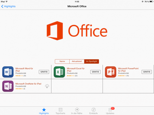 Microsoft Office Bild