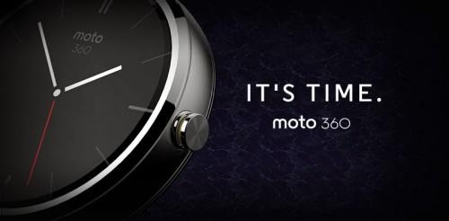 Moto 360 Bild