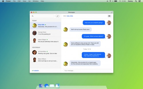 OS X 10_10 Design1