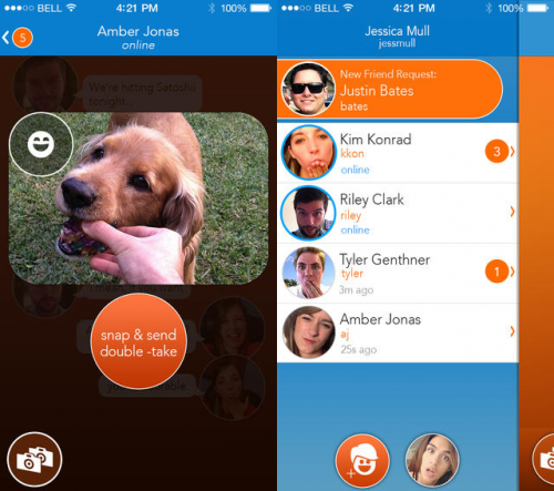 React Messenger Screen2