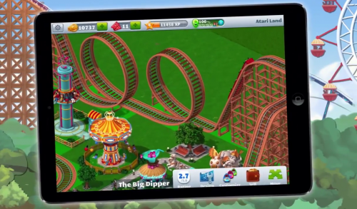 RollerCoaster Tycoon 4 Ankuendigung 1