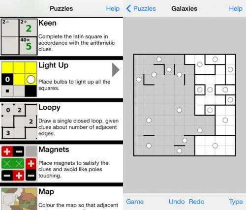 Simon Tathams Puzzle Collection Screen1