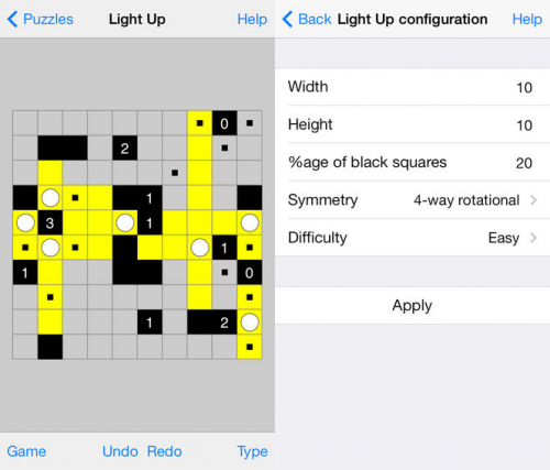 Simon Tathams Puzzle Collection Screen2