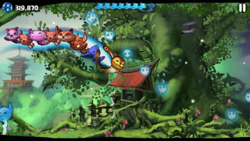Tanuki Forest Screen1