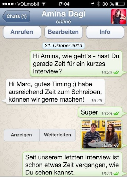 WhatsApp Interview voralberg.at
