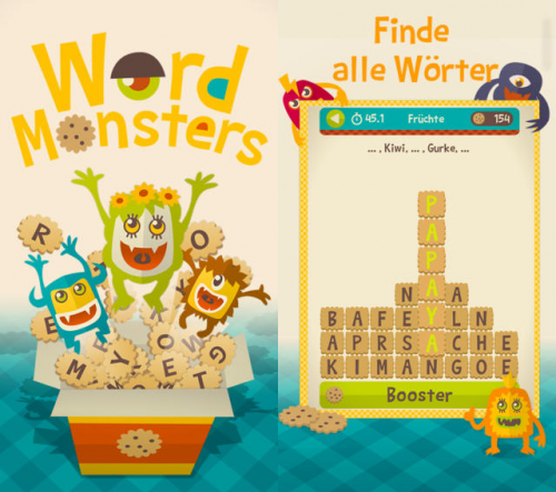 Word Monsters Screen1