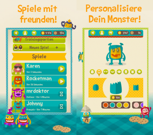Word Monsters Screen2